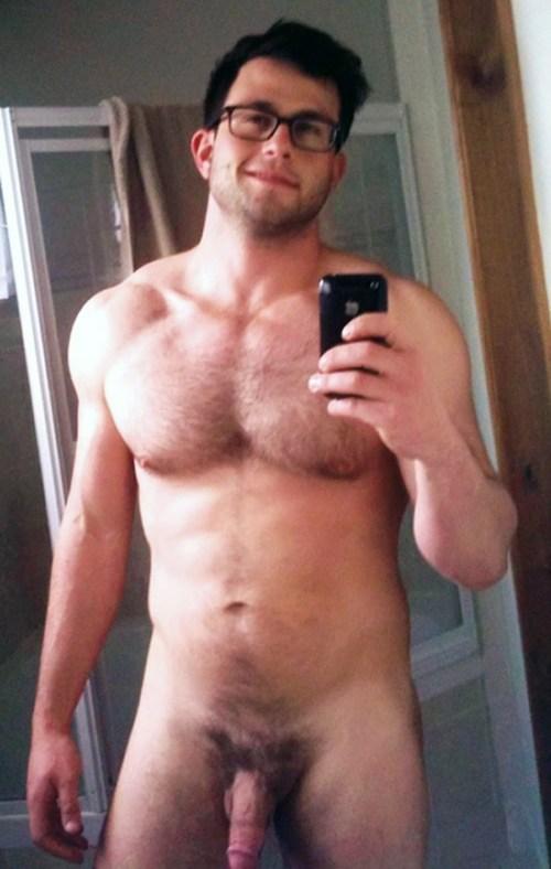 Hunks naked mirror pic