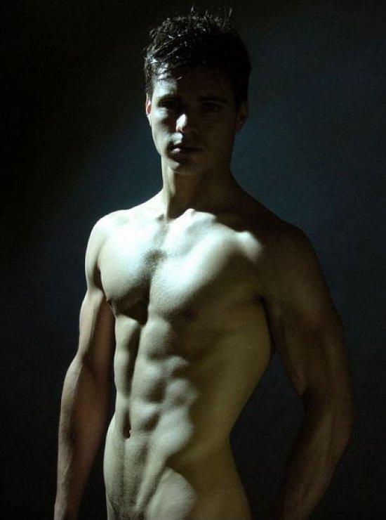 Muscled Matthieu Charneau