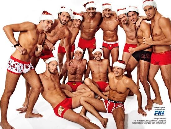 Italian Hunks in Underwear for Yamamay