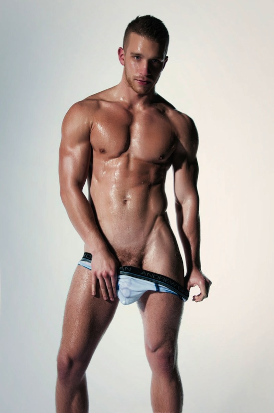 Jake Andrews Gets Raunchy For Andrew Christian! (1)