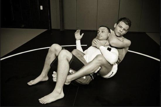 Jonathan Lipnicki - hunky wrestling action (9)