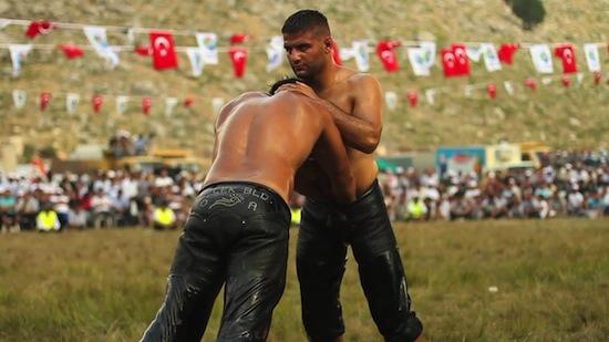 Turkish Male Oil Wrestling (3)