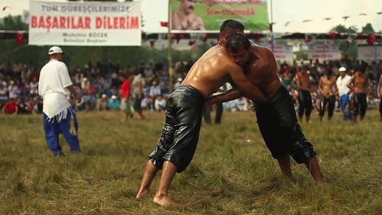 Turkish Male Oil Wrestling (2)