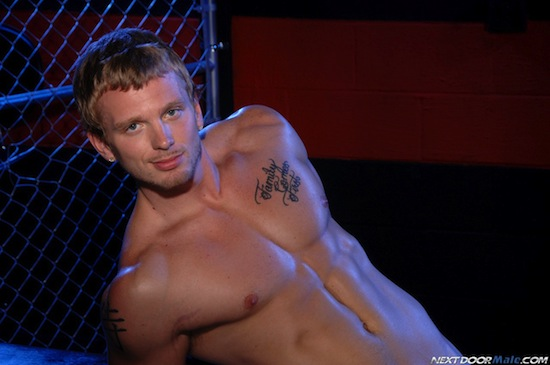Solo Fun With Muscle Boy James Huntsman (6)