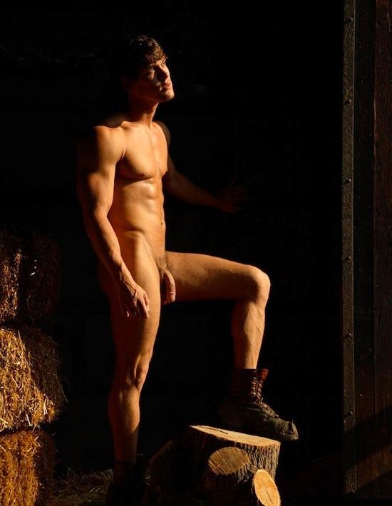 Male Model Leighton Stultz Naked (7)