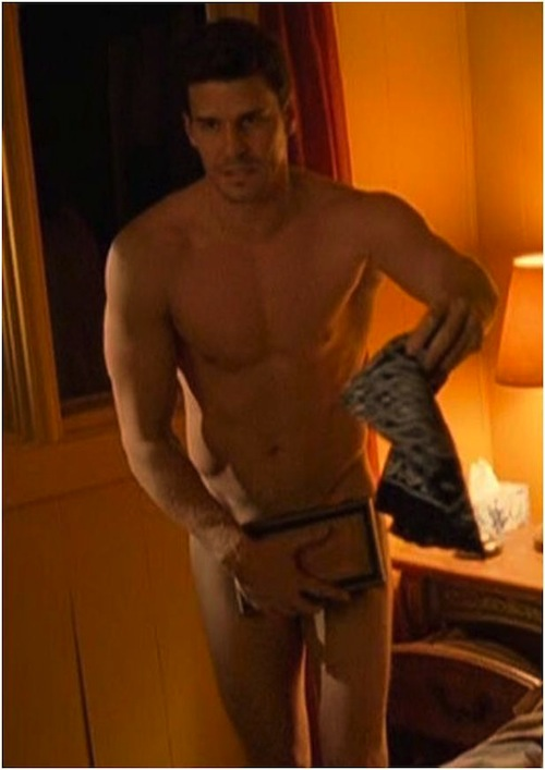 Fakes David boreanaz naked