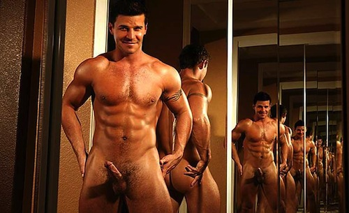 David Boreanaz naked (8)