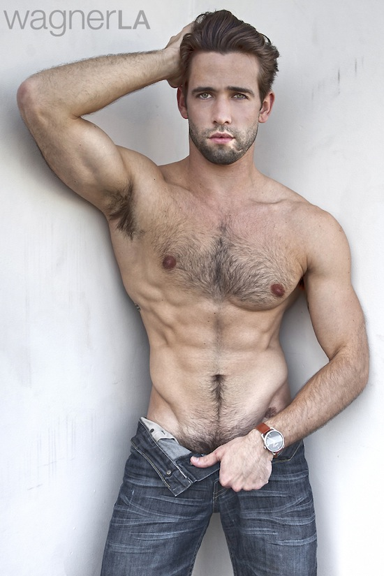 Awesome Hairy Hunk Levi Jackson (6)