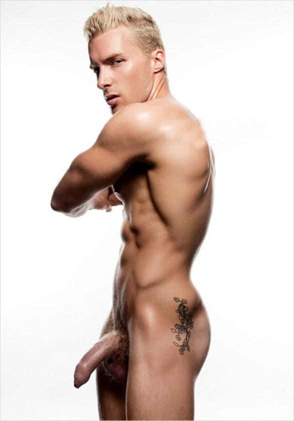 uncut man naked Hot