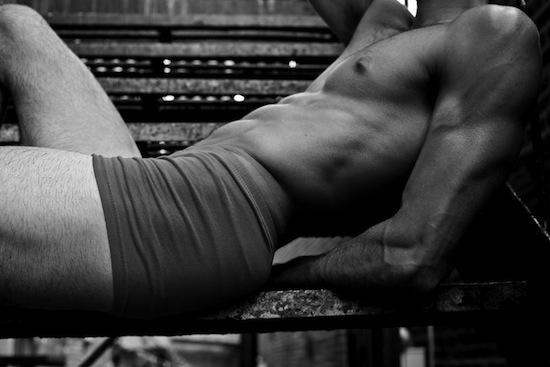 Mystery Muscle Hunk - In Underwear (2)
