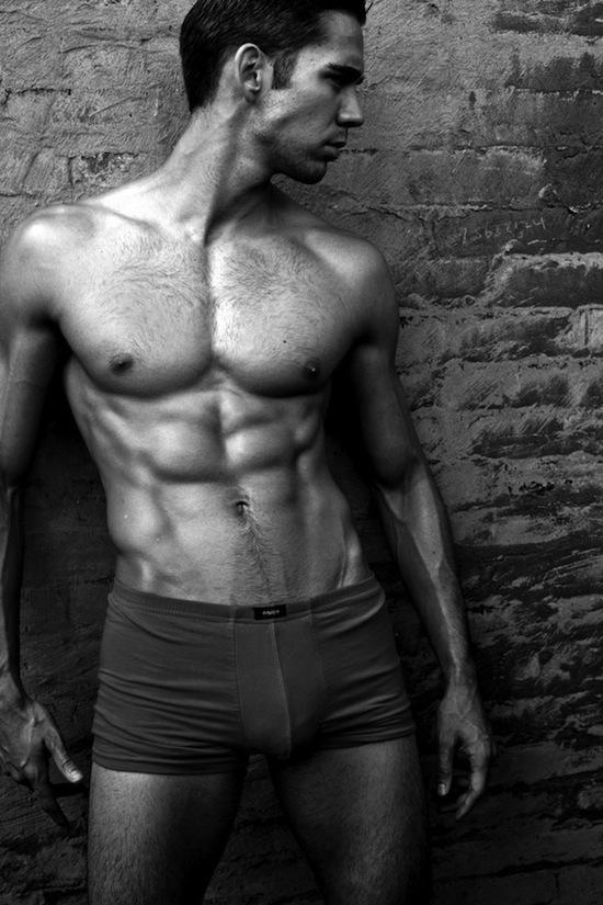 Mystery Muscle Hunk - In Underwear (8)