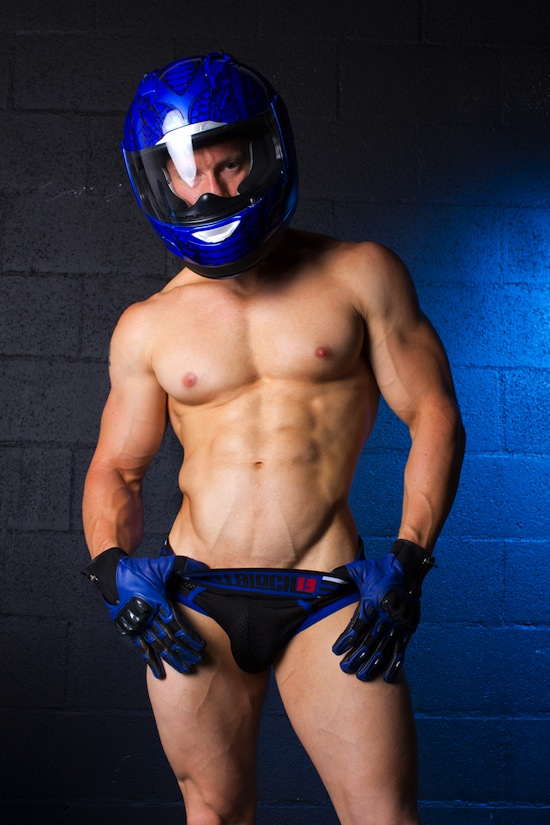 Muscle Hunk Kevin Williamson For CellBlock 13 (1)