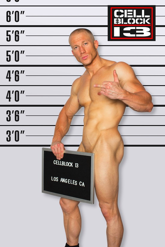 Muscle Hunk Kevin Williamson For CellBlock 13 (2)