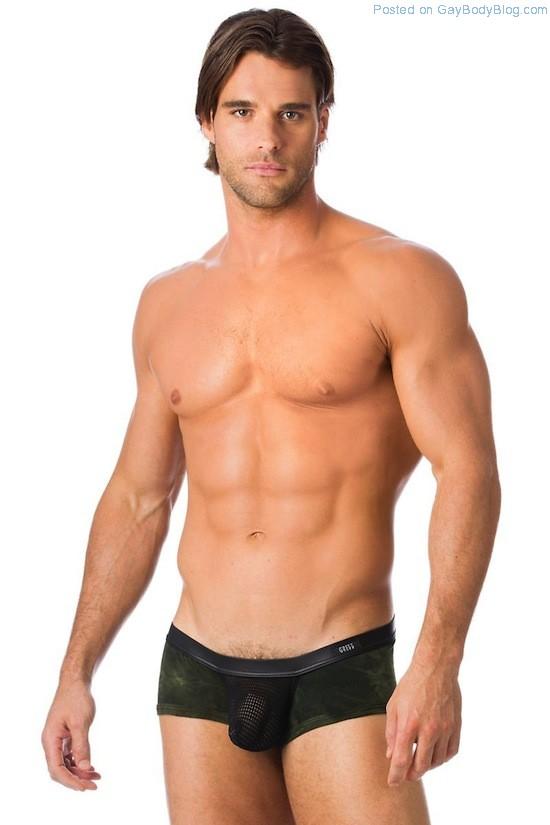 Sexy Thierry Pepin In Revealing Underwear (2)