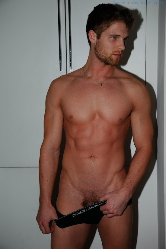 Flashing Some Butt With Sexy Jeff Tomsik (1)