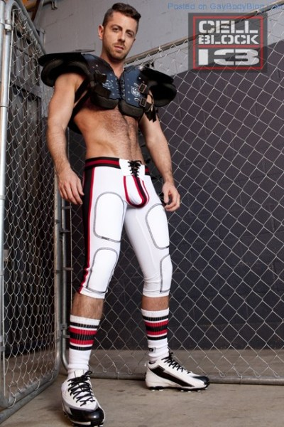 Hot Naked Hunk Brayden Forrester For CellBlock 13 (1)