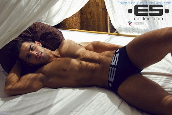 Muscle Hunks In Underwear - For ES Collection Russia (2)