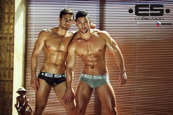 Muscle Hunks In Underwear - For ES Collection Russia (3)