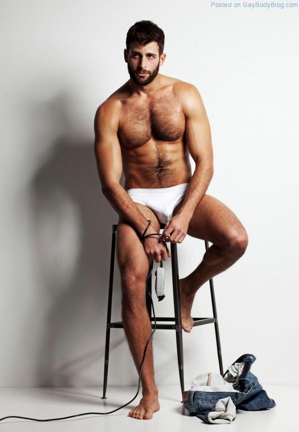 Sweaty, Hairy And Masculine - David Picard (7)