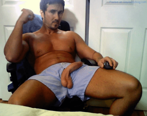 Straight Naked Man 71