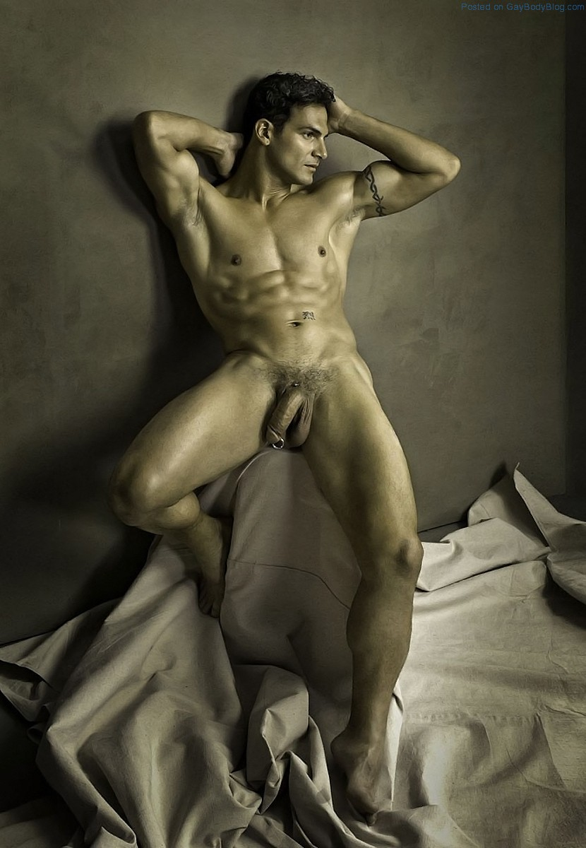 Naked Male Model Photography