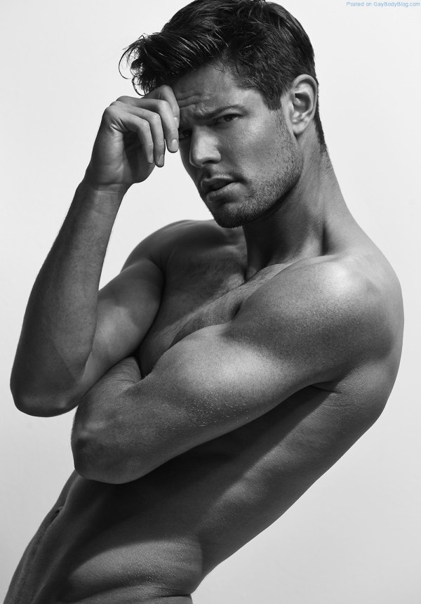 Handsome And Hunky Model Anthony Selemidis Has A Range Of Emotions (5)