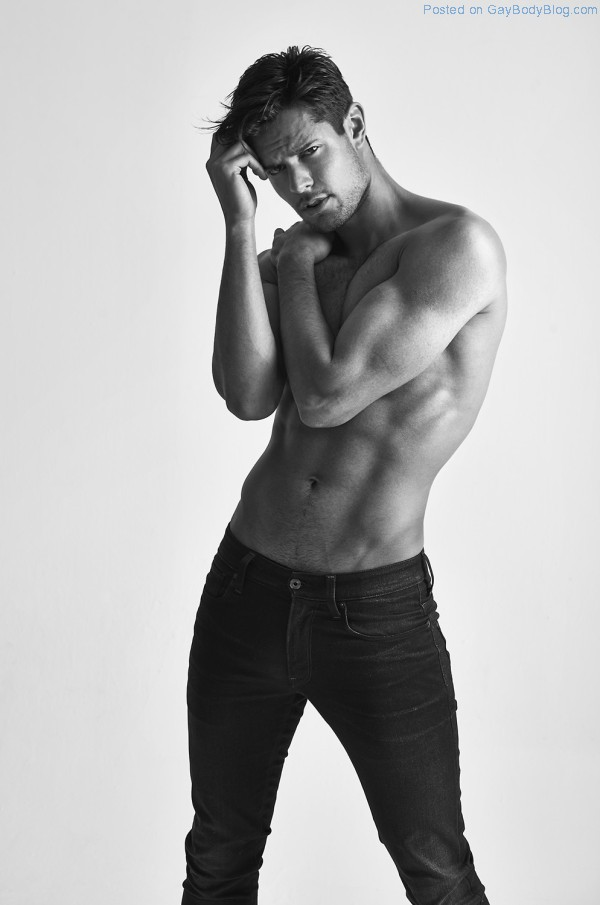 Handsome And Hunky Model Anthony Selemidis Has A Range Of Emotions (3)