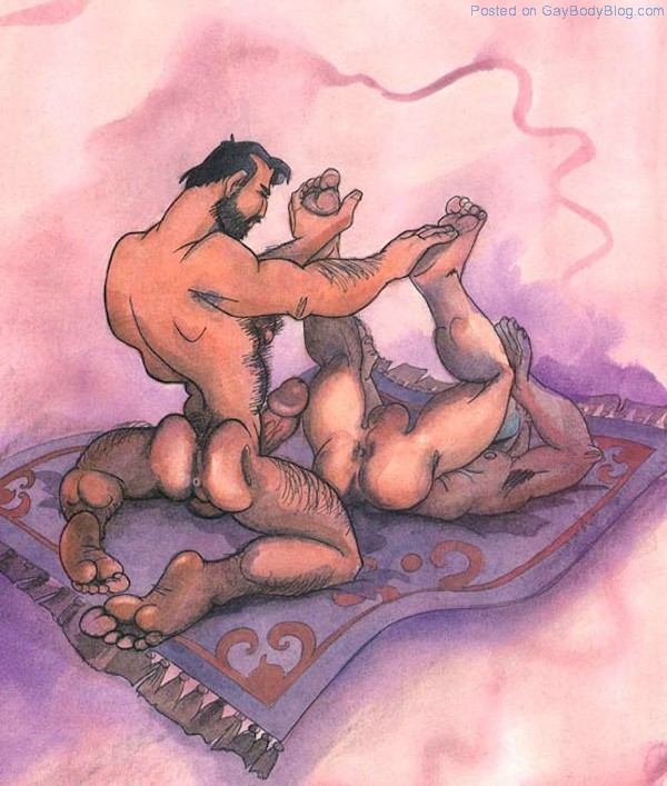 erotic art Gay