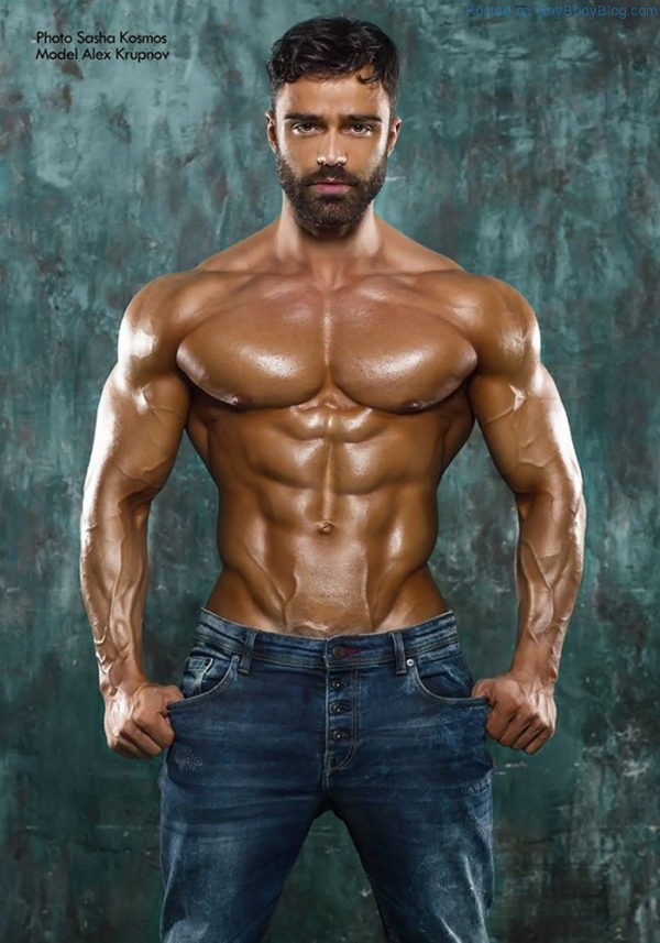 Alex Krupnov Is One For All The Real Muscle Lovers 1