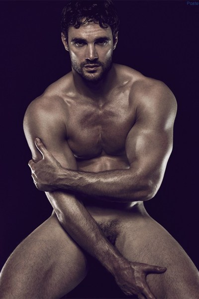 Rugby player Thom Evans naked