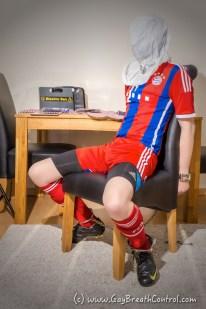 EmoBCSMSlave SBB - Soccer Bondage Breathplay