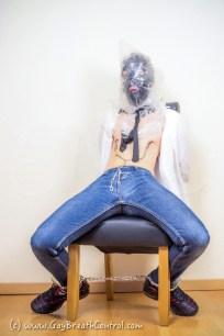 Preppy EmoBCSMSlave breath controlled and bound
