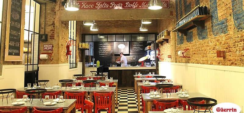 Pizzeria Guerrin restaurant Buenos Aires, Argentina