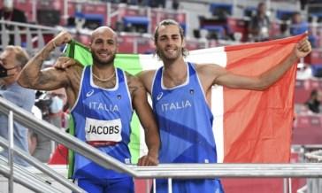 Jacobs e Tamberi conquistano l'oro a Tokyo 2020