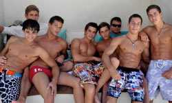 Saunas Gay campgrounds bathouse