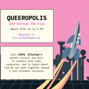Queeropolis Job Fair flyer