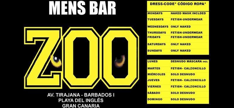 ZOO Mens gay bar Gran Canaria