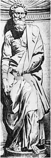 Paul the Apostle - Michelangelo