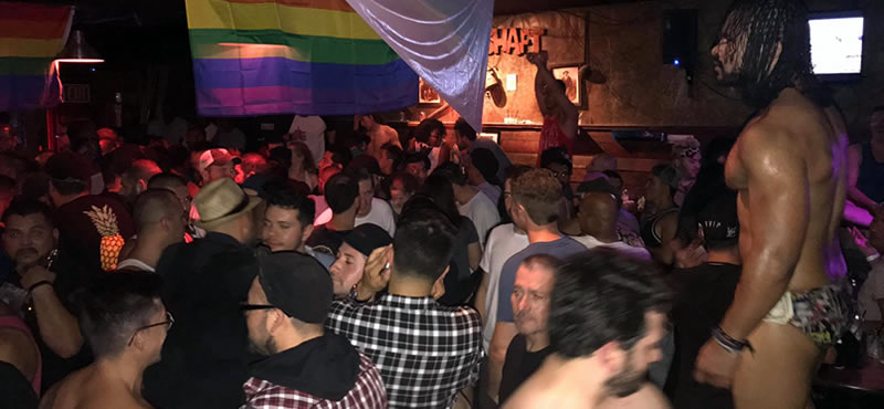 Mineshaft gat bar Long Beach LA