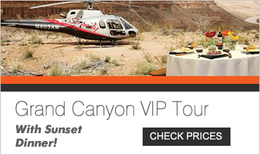 VIP Dinner at the Grand Canyon