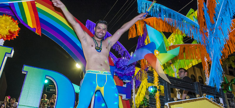 Las Vegas Gay Pride Night Parade