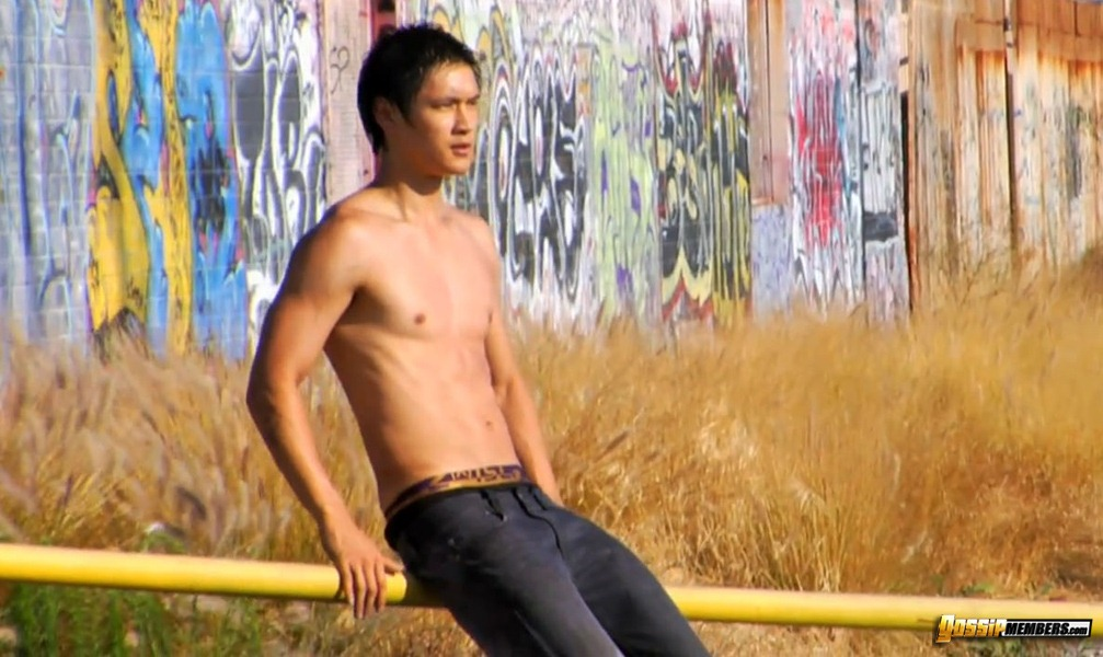 harry shum jr. shirtless
