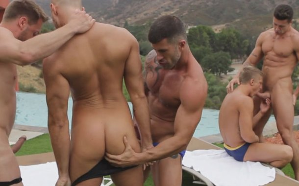 Speedo Muscle 5some