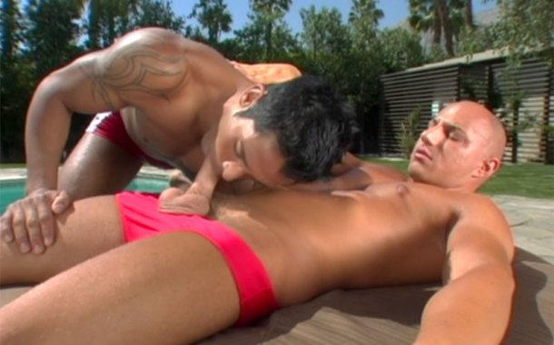 Red Speedos = Naughty