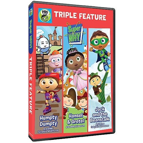 Jack And Beanstalk Super Why Dvd
