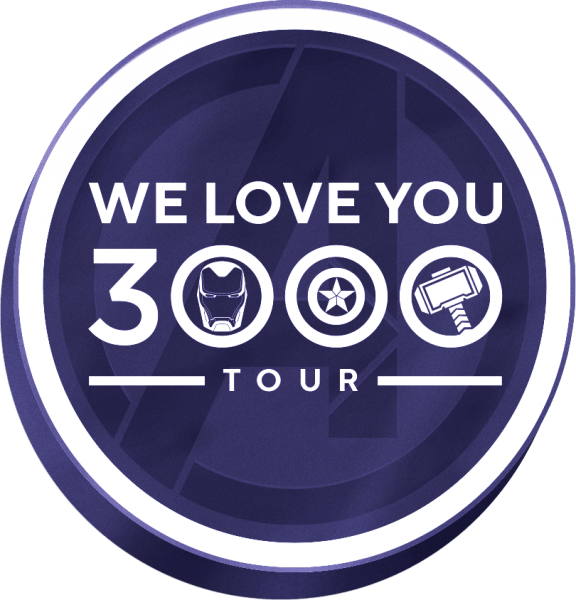 """Download MARVEL STUDIOS CONTINUES THE """"WE LOVE YOU 3000"""" TOUR!"""