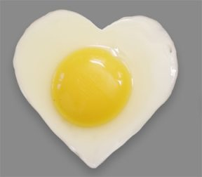 Eggs are good for your heart - in more ways than one