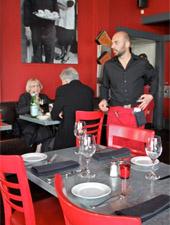 Dining Room at Chez Papa Bistrot, San Francisco, CA
