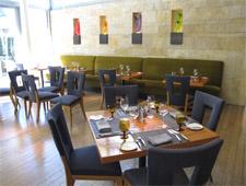 Dining Room at Quattro Restaurant & Bar, East Palo Alto, CA