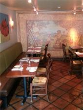 Dining Room at Bacco, San Francisco, CA